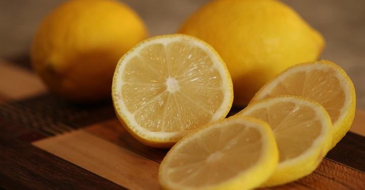 bleka huden citron